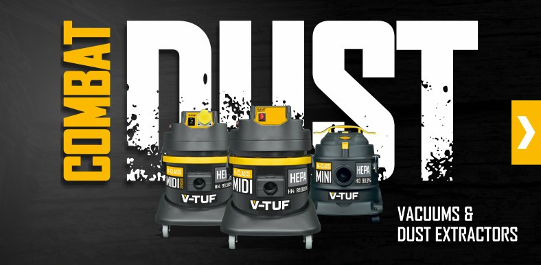 V-TUF Vacuum Cleaners and Dust Extractors M-Class and H-Class