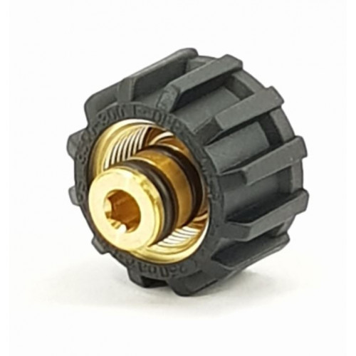 M22F x 1/4F (DOUBLE 'O' RING) SCREW COUPLING