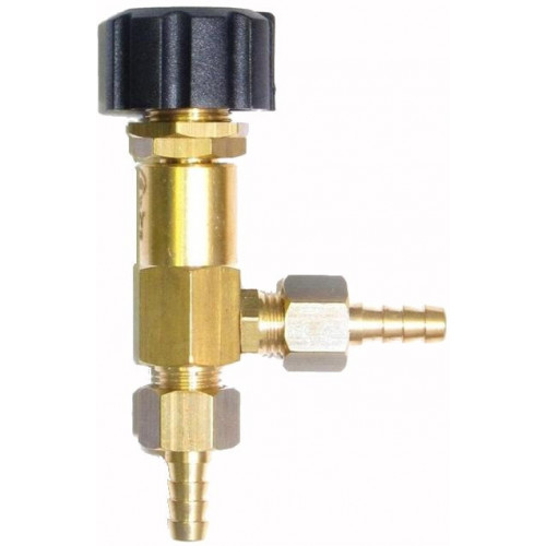 METERING 'L' CHEMICAL VALVE WITH CAP & TAILS