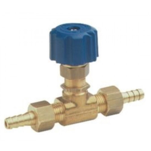 METERING 'T' CHEMICAL VALVE WITH CAP & TAILS