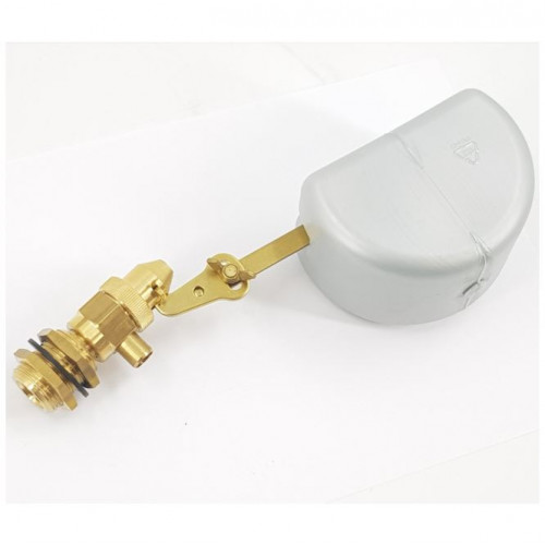 FLOAT VALVE & WATER TANK, BRASS, 3/4M PANEL MOUNT