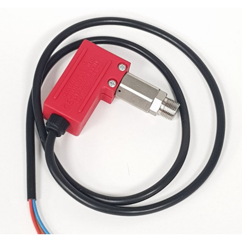PRESSURE SWITCH 600BAR - STAINLESS - 25 BAR/15A 3 CORE LEAD