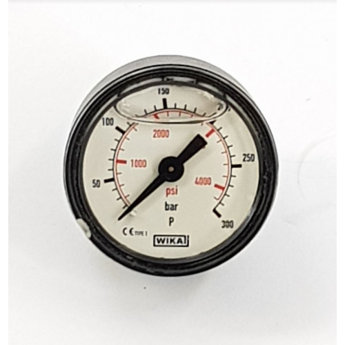 PRESSURE GAUGE 41mm - 0 to 300BAR 1/8m back entry