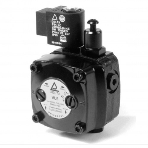 FUEL PUMP DEL UNI-ROT. - 24V COIL/ 8mm SHAFT 32MM