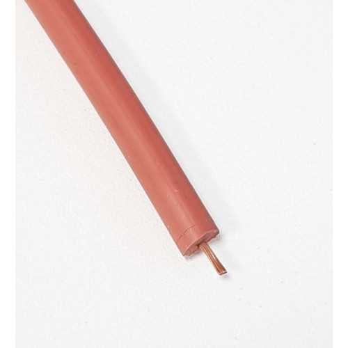 H.T LEAD - RED (SOFT RUBBER) - 1 Meter