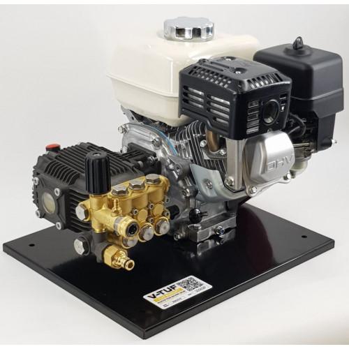 DD065 PETROL PRESSURE WASHER 6.5HP HONDA- 206BAR 13L/M VT5 PUMP - BASE PLATE