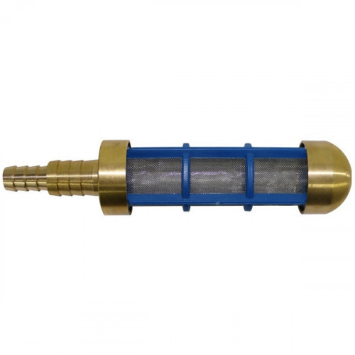 WATER SUCTION FOOT FILTER C/W STEPPED TAIL + VALVE