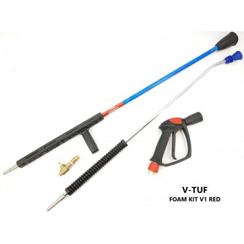 FOAM KIT - V-TUF RED OPTI V1