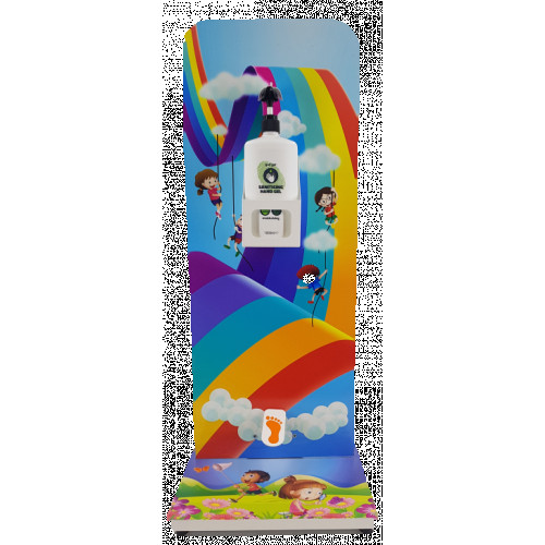 V-TUF KIDDIES HANDS FREE SANITISER STATION - 1LITRE CAPACITY