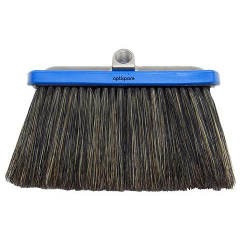 "Hog Hair 10cm Brush  - 1/4""F inlet"