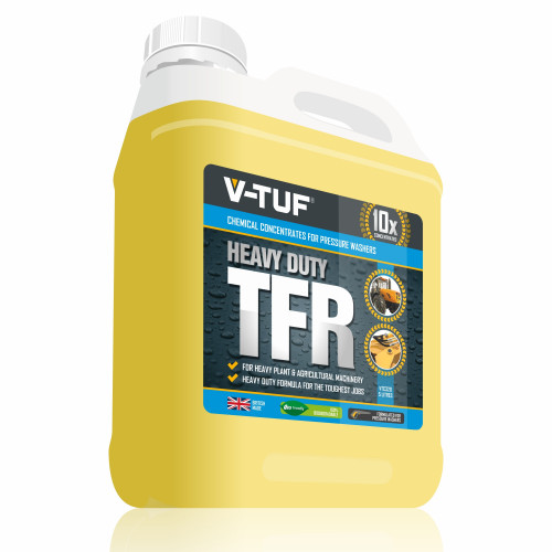 V-TUF VTC320 5 LITRE HEAVY DUTY TFR & MACHINE WASH - 10X CONCENTRATED - 100% BIODEGRADABLE