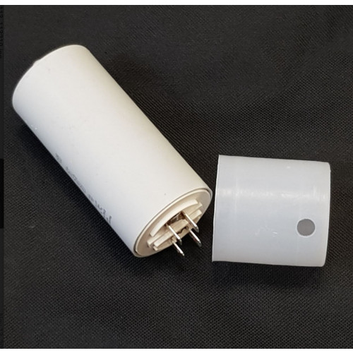 CAPACITOR WITH TERMINALS, 35 mfd