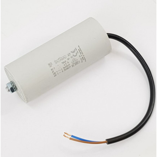 CAPACITOR WITH FLY LEAD, 70 mfd