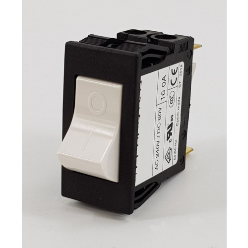 SWITCH - LRS TYPE ROCKER 16 AMP THERMAL OVERLOAD