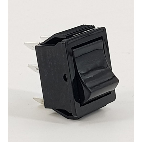 SWITCH - VRS BLACK ROCKER TYPE 2 POS (6 connections)