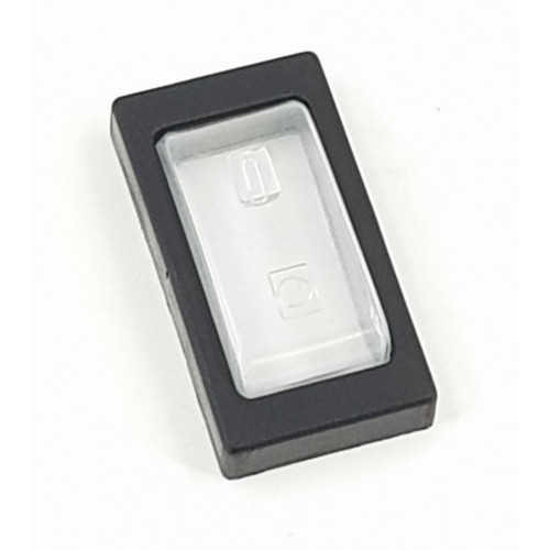 SWITCH COVER (CLIP ON) FOR LRS TYPE ROCKER SWITCH