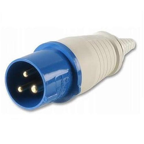 PLUG 240 VOLT 16 AMP (BLUE)