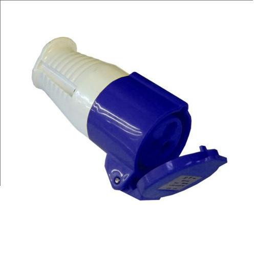 SOCKET 240 VOLT 16 AMP (BLUE)