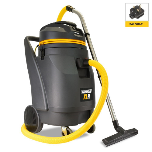 V-TUF MAMMOTH XLR 240V 110L 3kW High Performance Industrial Wet & Dry Vacuum Cleaner