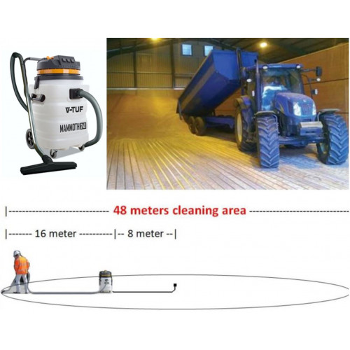 3kW 90L Industrial Powerful Grain Store Vacuum Cleaner
