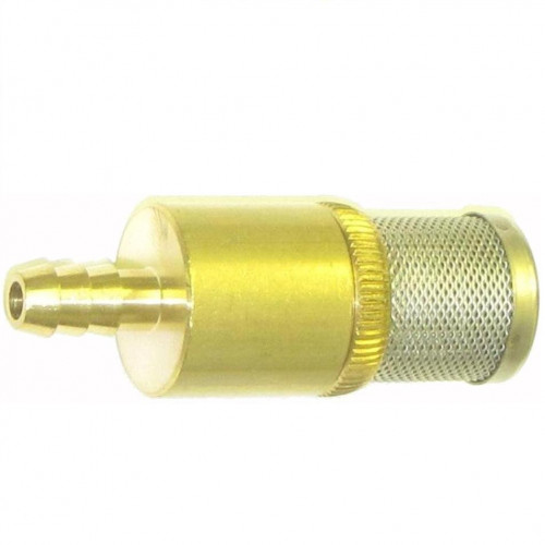 CHEM SUCTION FILTER BRASS & STAINLESS - N.R VALVE