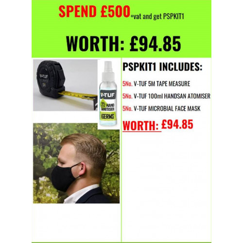 PROMO SUPPORT PACK 1 (FREE with spend over £500 + VAT)