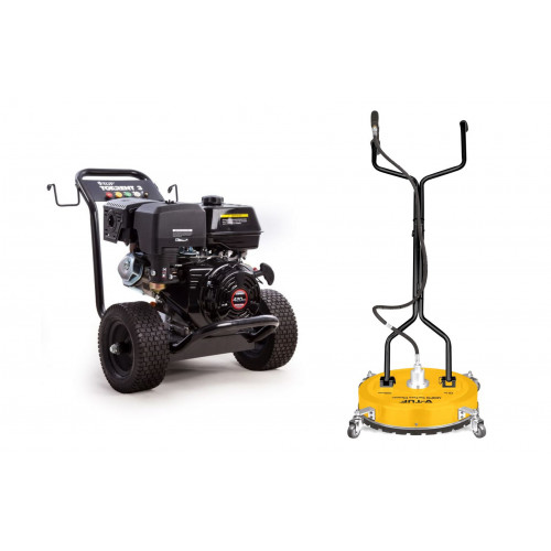 TORRENT 3 15HP PETROL PRESSURE WASHERS WITH POLY DECK SUFACE CLEANER