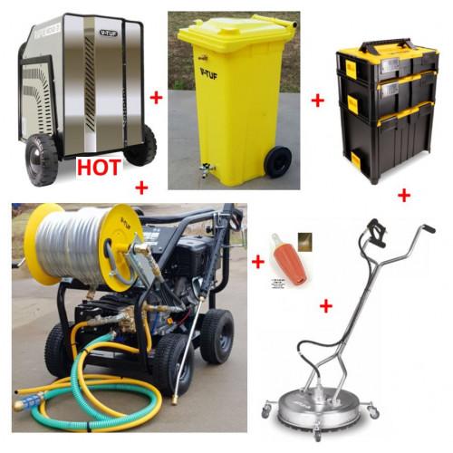 TORRENT 3 15HP PETROL PRESSURE WASHER 21L/MIN (ES) & HOT BOX KIT6 - BUNDLE