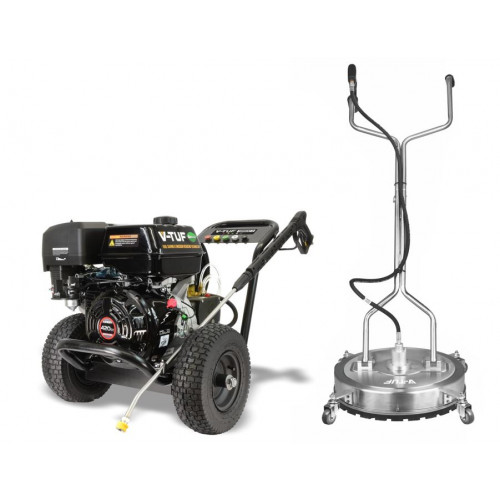 TORRENT 3 15HP PETROL PRESSURE WASHERS WITH S/S SUFACE CLEANER