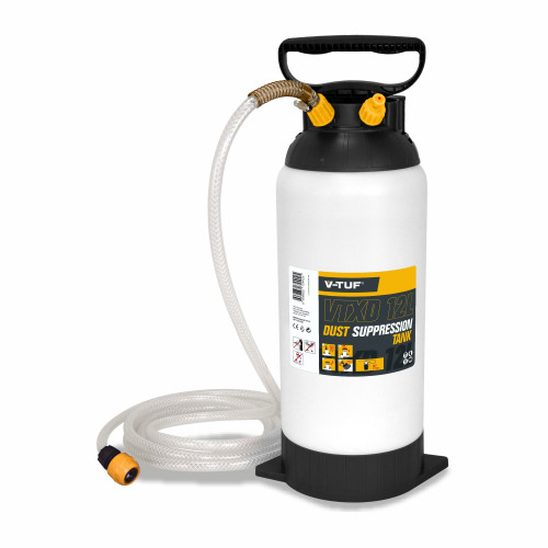 V-TUF 12L DUST SUPRESSION TANK WITH TANKGUARD PROTECTION