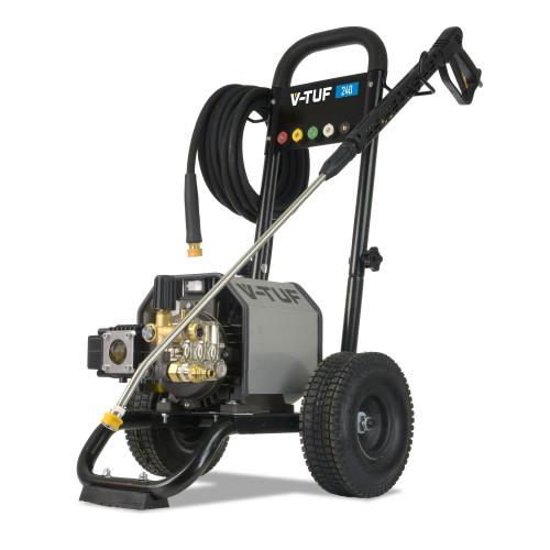 VTUF240 - 240v Compact, Industrial, Mobile Electric Pressure Washer - 1450psi, 100Bar, 12L/min