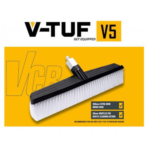 V-TUF CARWASH BRUSH ATTACHMENT SSQ FOR V5 & NEW V3 Pressure Washer