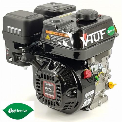 """V-TÜF 7HP PETROL ENGINE C/W OIL ALERT  3/4"""" SHAFT - LOW CARBON VERSION - VLCP07"""