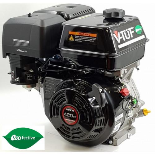"""V-TÜF 15HP PETROL ENGINE C/W OIL ALERT  1"""" SHAFT - LOW CARBON VERSION"""