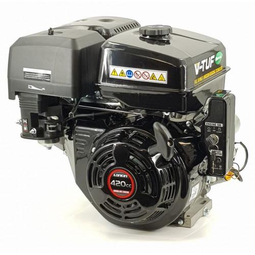 "V-TÜF 15HP PETROL ENGINE - ELECTRIC & PULL START C/W OIL ALERT  1"" SHAFT - VLCP15ES"