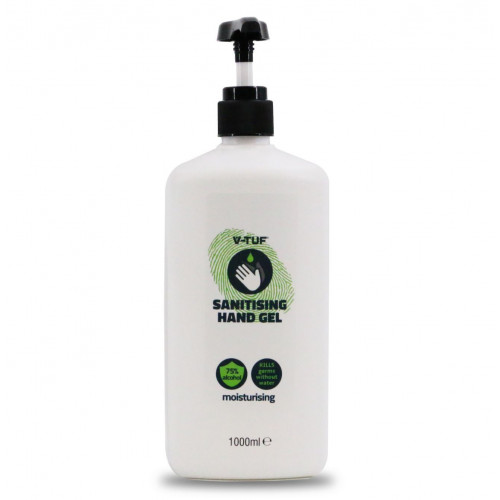 V-TUF COMBAT GERMS 1000ML 75%  ALCOHOL HAND GEL – WITH HAND PUMP - VTCG1000
