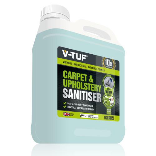 V-TUF VTC420 5L CARPET & UPHOLSTERY SANITISER -  10X CONCENTRATED