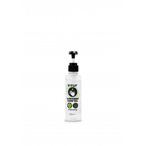 V-TUF COMBAT GERMS 250ML 75%  ALCOHOL HAND GEL – WITH HAND PUMP