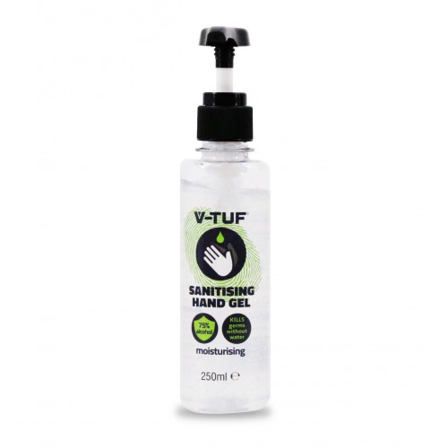 V-TUF COMBAT GERMS 250ML 75%  ALCOHOL HAND GEL – WITH HAND PUMP - VTCG250