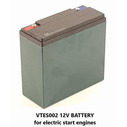 BATTERY - 12V FOR ELECTRIC START PRESSURE WASHERS>S----