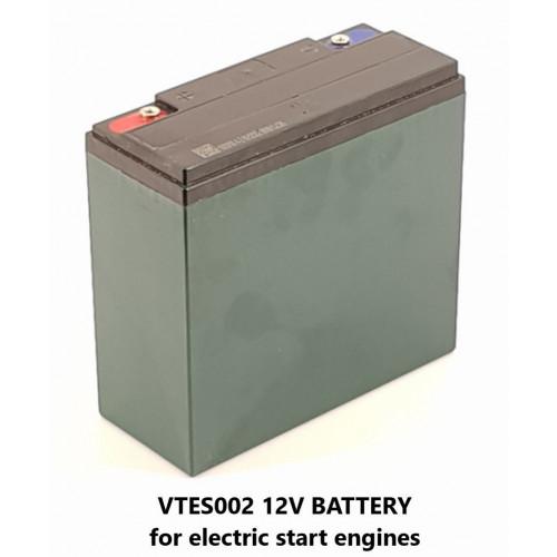 BATTERY - 12V FOR ELECTRIC START PRESSURE WASHERS - VTES002