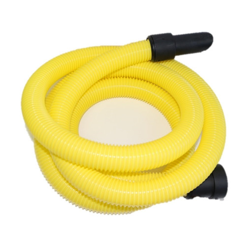 5m Yellow HiViz Dust Extraction Replacement Vacuum Hose - For V-TUF MINI