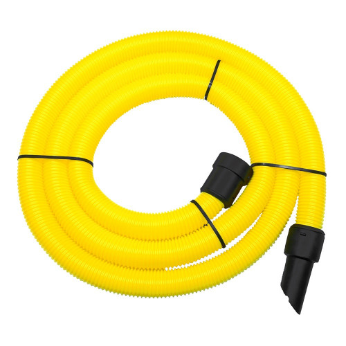 10m Yellow HiViz Dust Extraction Replacement Vacuum Hose - For V-TUF MINI
