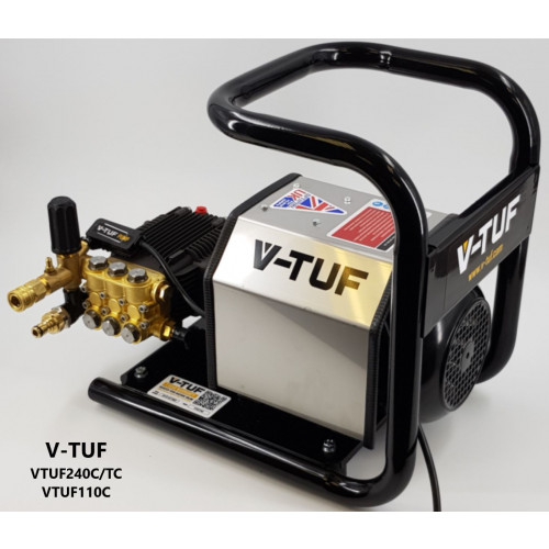 V-TUF240TC PORTABLE PRESSURE WASHER 240V (TOTAL STOP)