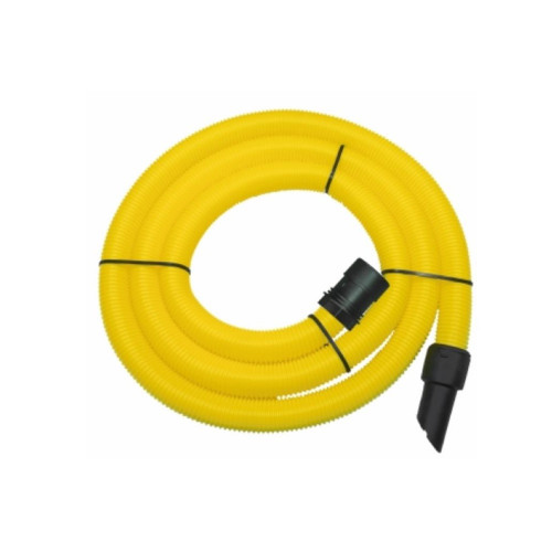 5m Yellow HiViz Dust Extraction Replacement Vacuum Hose - For Mighty Vac Range