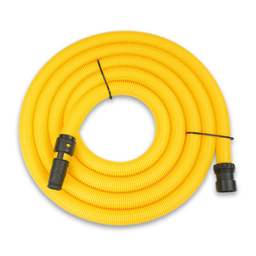 HOSE - 5M 32mm Yellow & Universal Power Tool Adaptor (with Air Flow Control) - for MIGHTY, NEW MIDI, MAXi 50, MAXi 80 - VTVS7024
