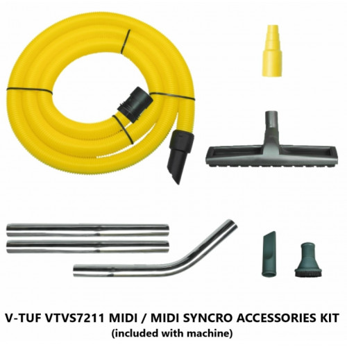 Dust Extraction Vacuum Cleaner Accessory Kit - fits MIGHTY/MIDI/MIDI SYNCRO Ranges