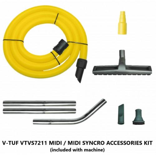 Dust Extraction Vacuum Cleaner Accessory Kit - fits MIDI/MIDI SYNCRO Ranges