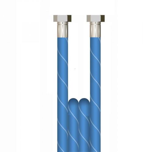 15m 2w 3/8 BLUE V-TUF HOSE 3/8F x 3/8F No cuffs