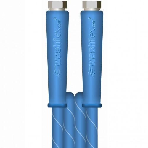 "20m 2w 3/8 155°C  V-TUF BLUE JETWASH 3/8""F x 3/8""F Cuffs"
